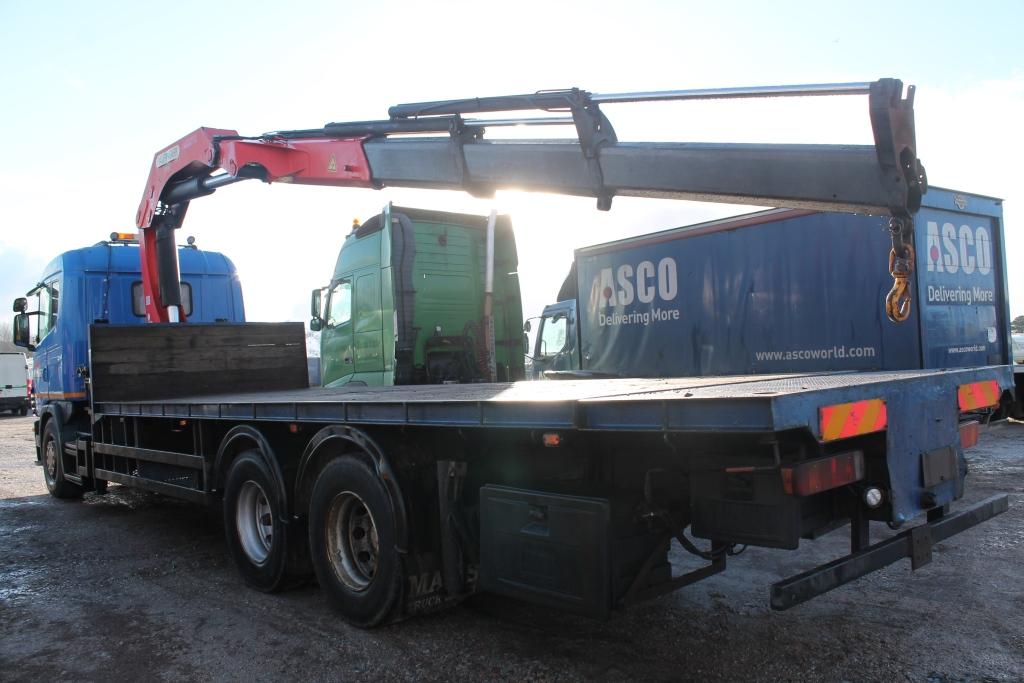 4 Door Tractor : Scania srs l class r la slp cc door