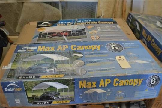 Next & Choice of lots: 342 (P)  Max AP Canopy 10ft x 20ft + Max AP Super ...