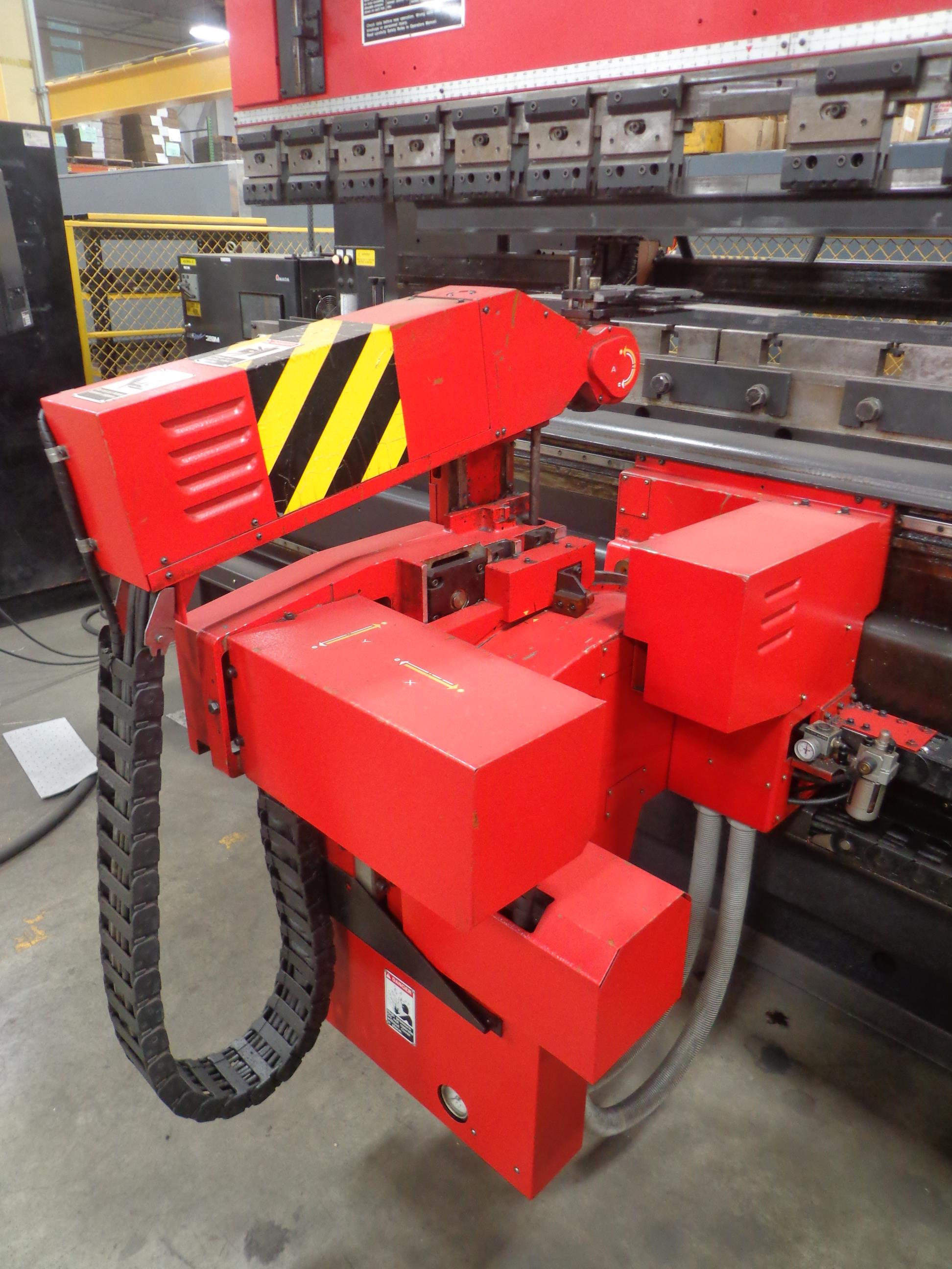 "Lot 10 - AMADA MODEL ASTRO100MH 118.1"" PRESS BRAKE, S/N: 10302079 (1999). THERE IS A SECOND TAG WITH THE"