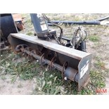 72in SB 200 Bobcat Skidsteer Mount Snowblower