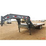 2010 T/A 20ft 5th Load Max Wheel Utility Trailer