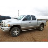 2003 Dodge Quad Cab 2500 4 x 4 Short Box Pickup