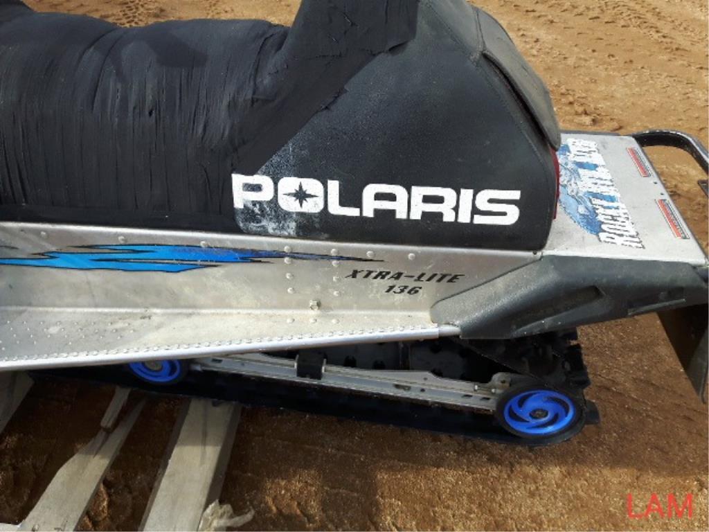 Polaris 550 RMK Trail Snowmobile - Image 6 of 7