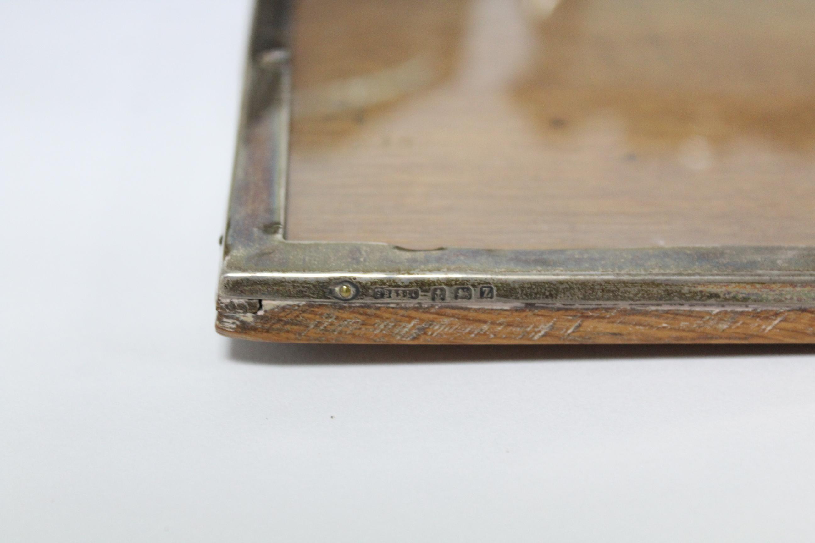 Five various rectangular photograph frames; & a small circular photograph frame, w.a.f. - Image 7 of 7