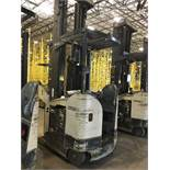 CROWN REACH TRUCK. Model #: RR5700. S/N: Unknown. Hours (as of Oct 15, 2018): Unknown. Year: n/a.