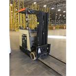 CROWN STAND UP FORKLIFT. Model #: RC3000. S/N: 1A241589. Hours (as of Oct 15, 2018): 10700. Year: