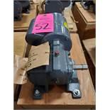 Dodge gearmotor model 6525070100, 1/6hp, single phase 115v, 70rpm output, 1625rpm input. New box.