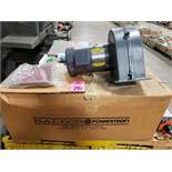 1hp Baldor Powertron blower assembly. 3 phase, 208-230/460v, 3450rpm. New as pictured.