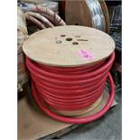"""spool of 1"""" general purpose air and water service hose, 300psi working pressure. New as pictured."""