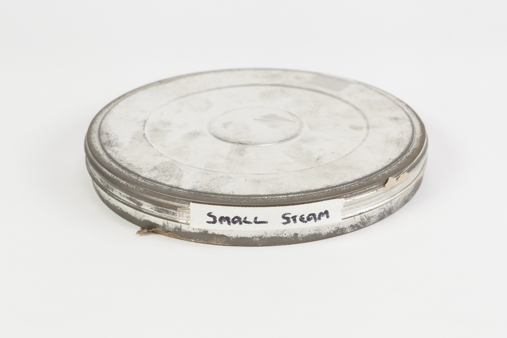 Lot 74 - 16mm FILM ON SPOOL in metal case. Small steam 1960's in colour with sound, Romney, Hythe and