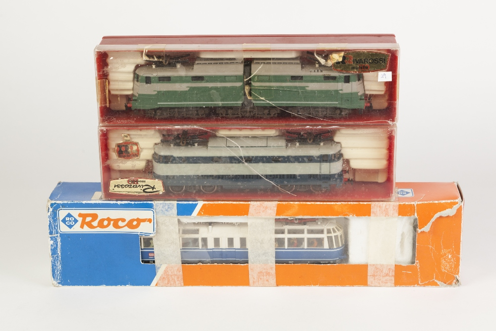 Lot 400 - RIVAROSSI, ITALY BOXED F S ELECTRIC LOCOMOTIVE E 646-019 articulated front and rear engines, each
