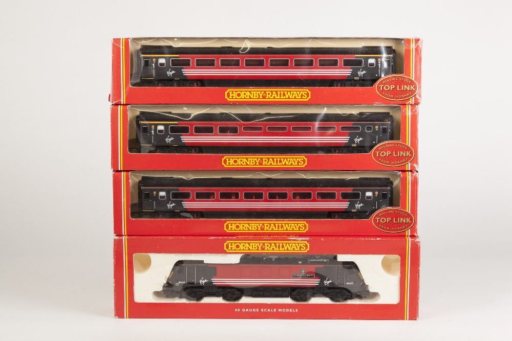 Lot 386 - HORNBY RAILWAYS BOXED 00 GAUGE CLASS 90 BOBO ELECTRIC LOCOMOTIVE 'THE INTERNATIONAL BRIGADES' No.
