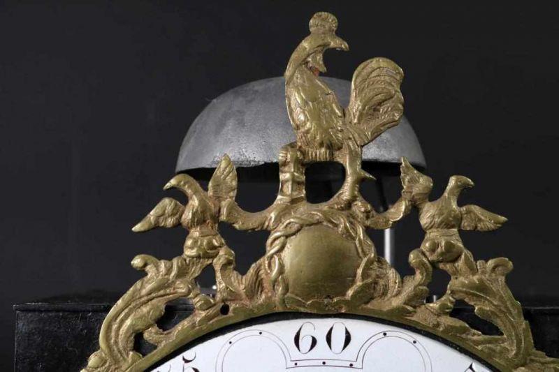Los 36 - Haantjes comtoise bekroond met koperen haantje, voorzien van vouwslinger, adres: Bally Ho Ger A