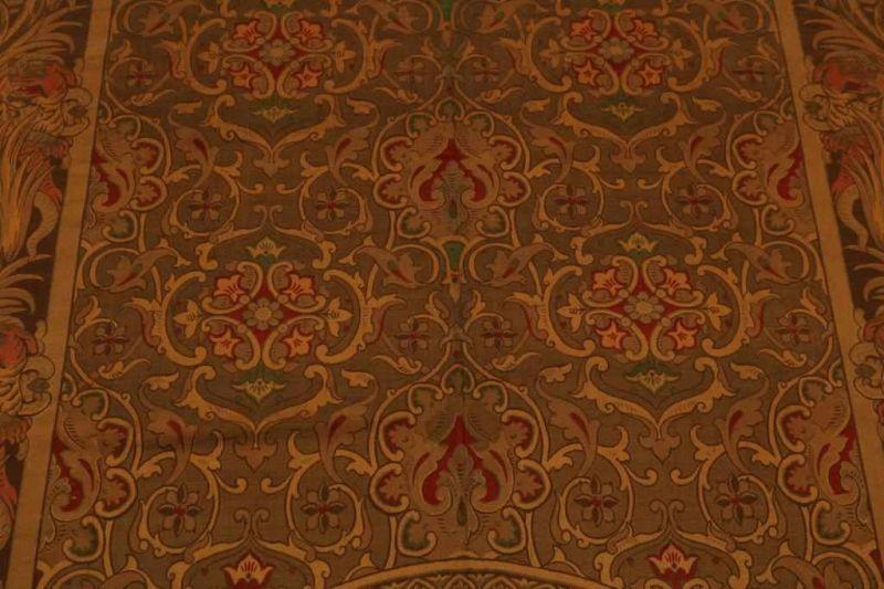 Gobelin met voorstelling van optocht van de Sultan, 290 x 140 cm. - Bild 3 aus 4