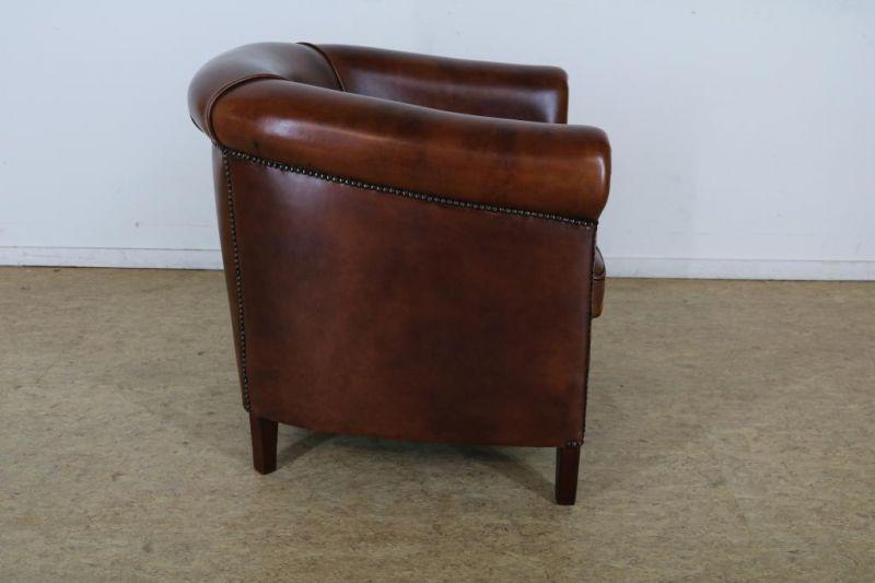 Los 48 - Lederen club fauteuil