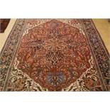 Tapijt, Heriz, 390 x 280 cm. Carpet, Heriz, 390 x 280 cm.