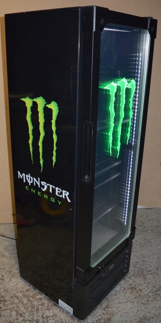 1 x monster energy drinks beverage cooler ideal for commercial premises or man cave manufactu - Monster energy corporate office ...