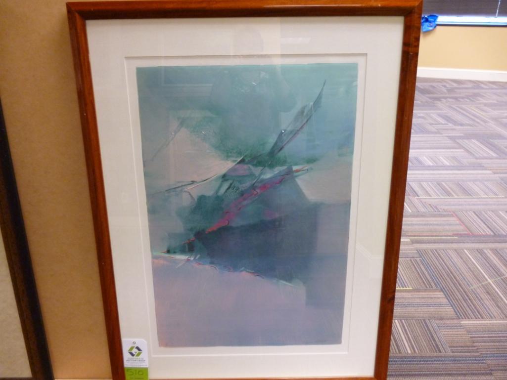 Lot 3510 - Artist: Wayne Abbott size: 36 1/2 x 48 Notes: