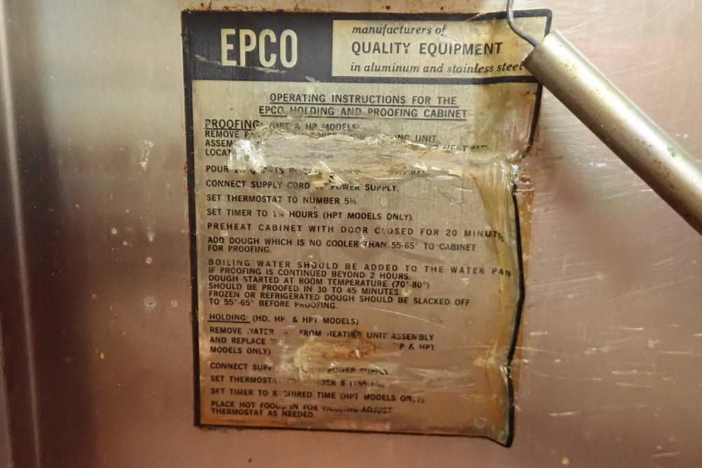 Lot 1007 - EPCO SS proofer