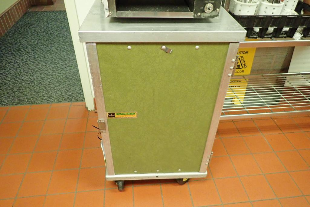 Lot 1068 - Crescor tray holding cabinet