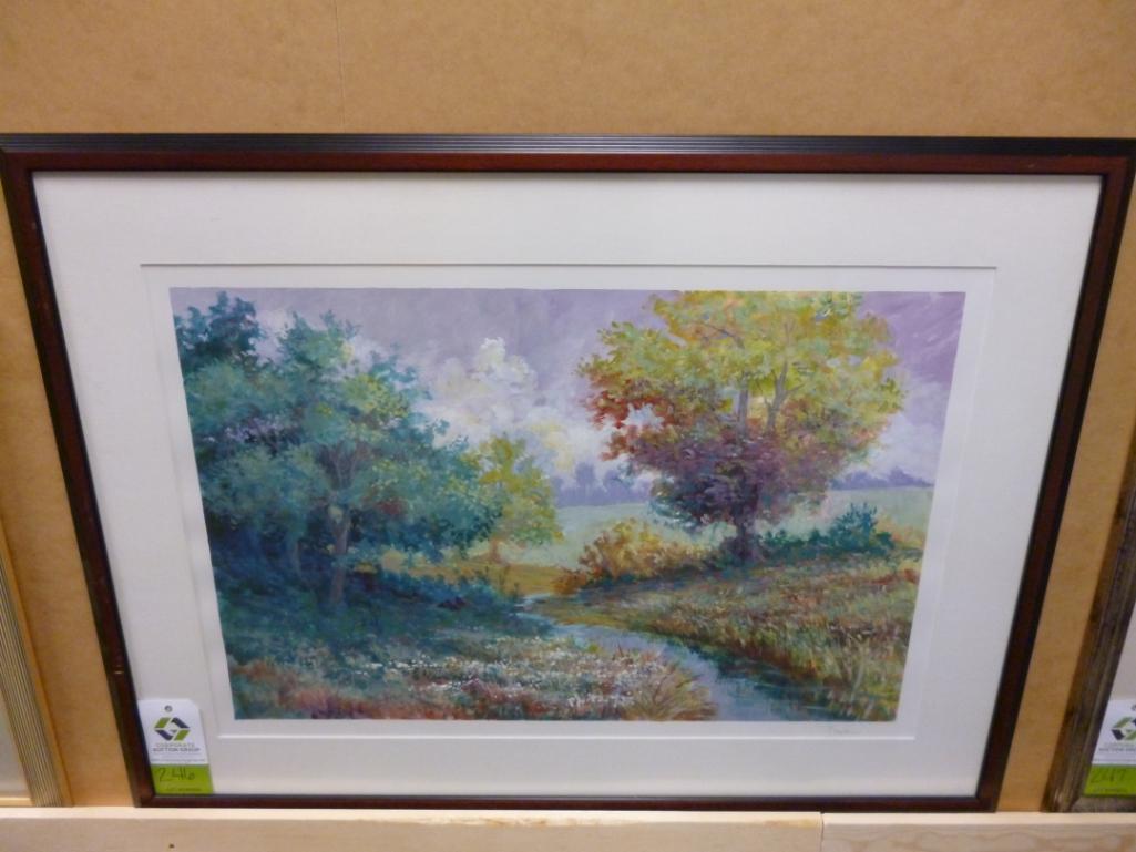 Lot 3246 - Artist: T A Johnson size: 48 x 36 Notes: