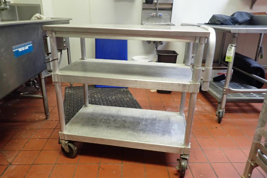 Lot 1013 - SS rolling cart