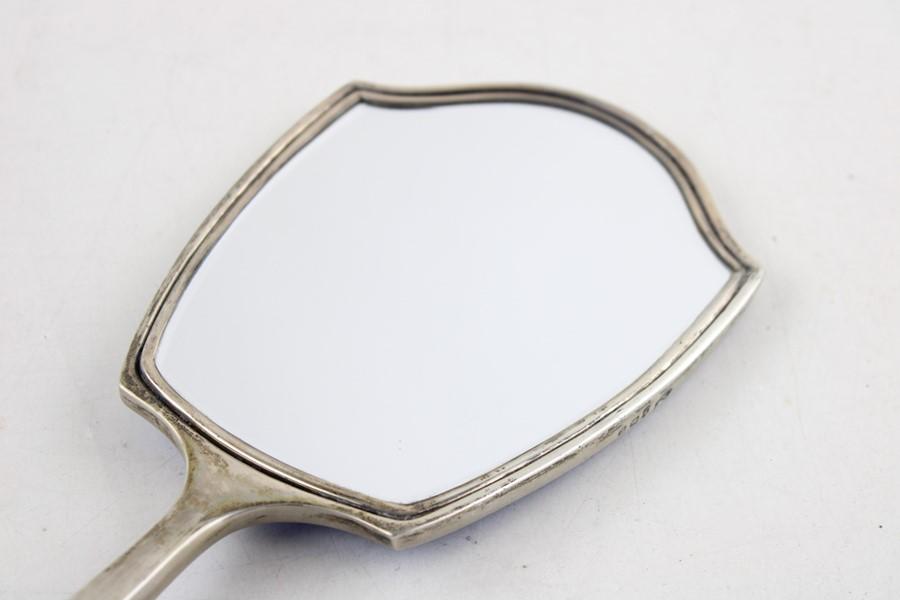 2 x Vintage Hallmarked .925 silver Ladies Vanity Brush & Mirror (302g) Items are in vintage conditio - Image 6 of 7