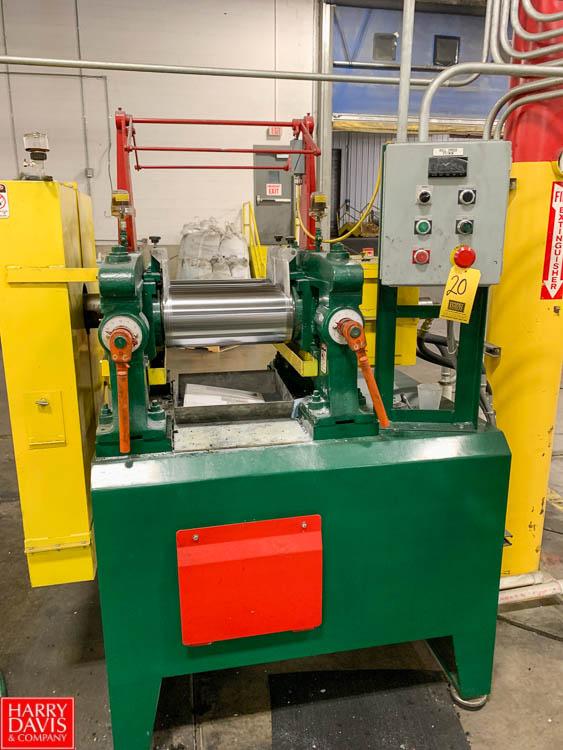 "Rubber City Machinery Rebuilt Thropp US Mill, 8"" x 16"", with Allen Bradley VFD Rigging Fee: 300"