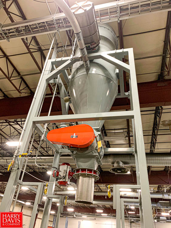 Cone Bottom Super Sack Fill-Hopper with Power Air Lock Rigging Fee: 2750