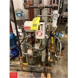 (2) Flowserve Valves, Plate Heat Exchanger, (3) Pressure Gauges and Endress Hauser Sensor Rigging