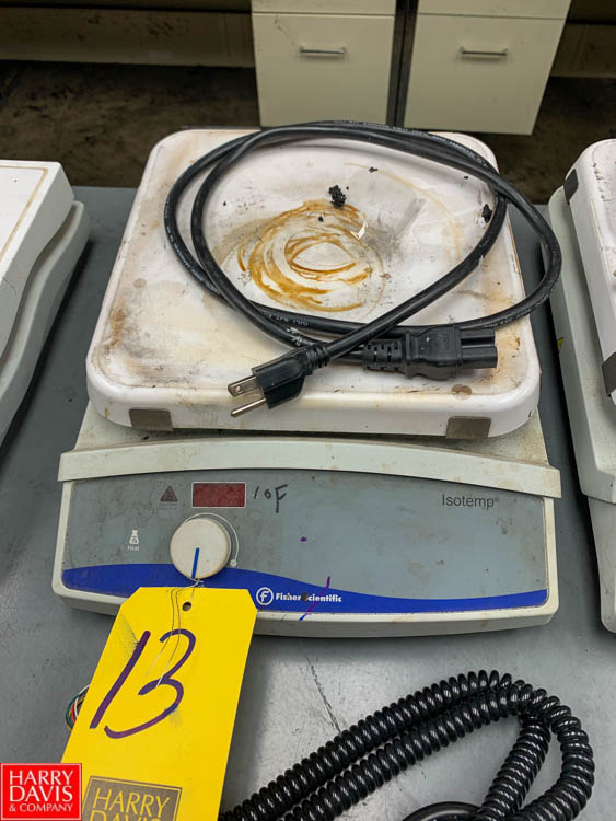 Fisher Isotemp Hot Plate Rigging Fee: 50