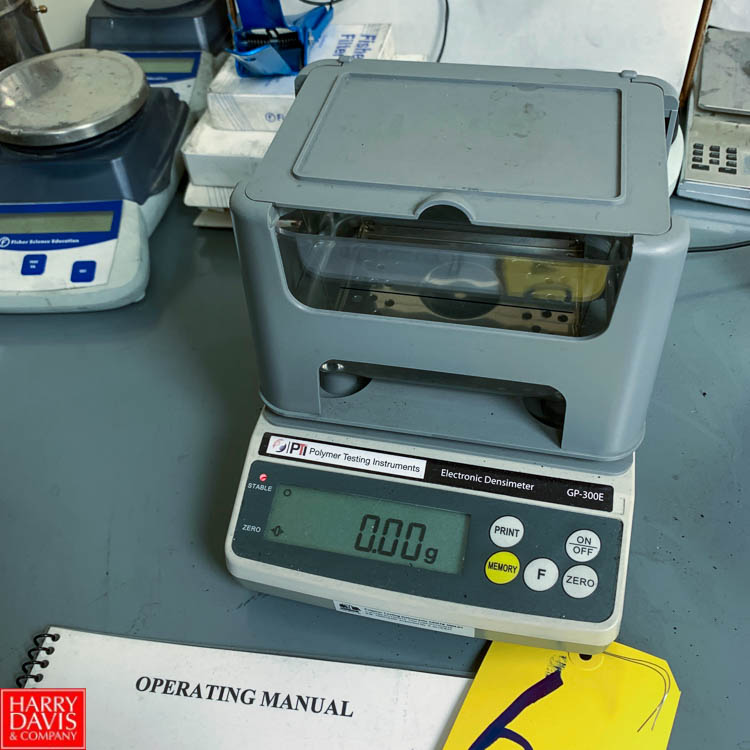 Polymer Testing Instruments Electronic Densimeter, CP-300 E Series Rigging Fee: 150