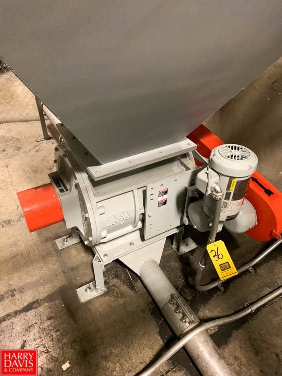 Smoot 2 HP Rotary Blower Rigging Fee: 200