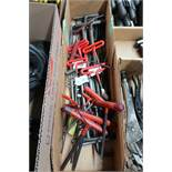 (LOT) T-WRENCHES