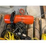 CM 1/2 TON ELECTRIC HOIST, 575 VOLTS