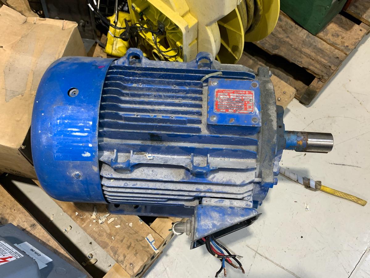 LEROY 20 HP MOTOR, 575/600 VOLTS