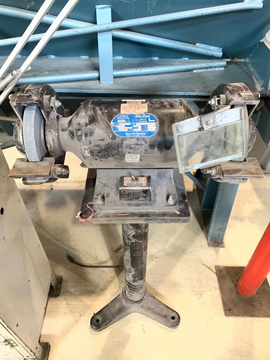 "BLUE POINT 8"" BENCH GRINDER, 115/230 VOLTS"