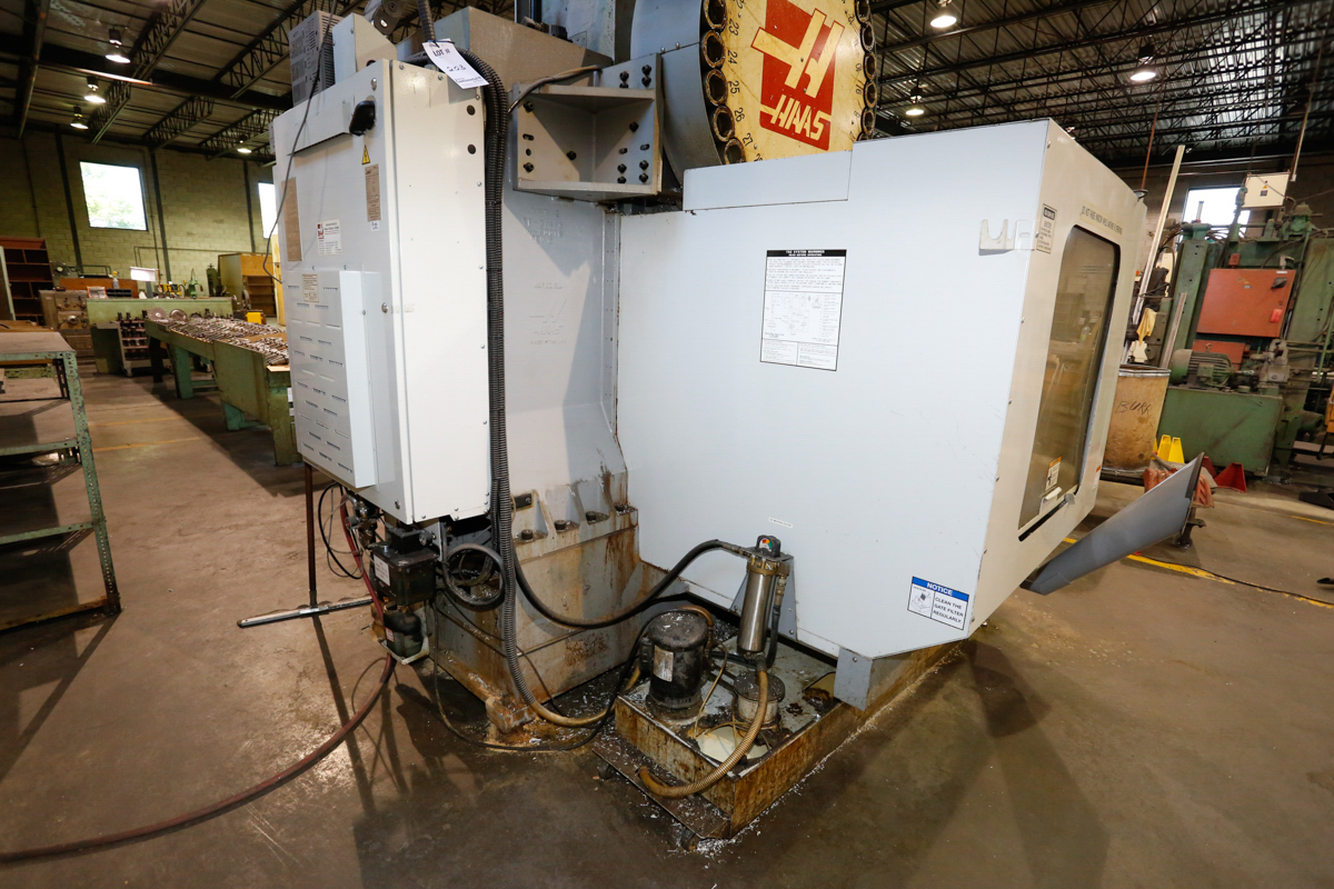 HAAS VF5/50XT 3-AXIX CNC VERTICAL MACHINING CENTER, EXTENDED TRAVEL, 10,000 RPM, 30 ATC, 30 HP 2 - Image 6 of 10