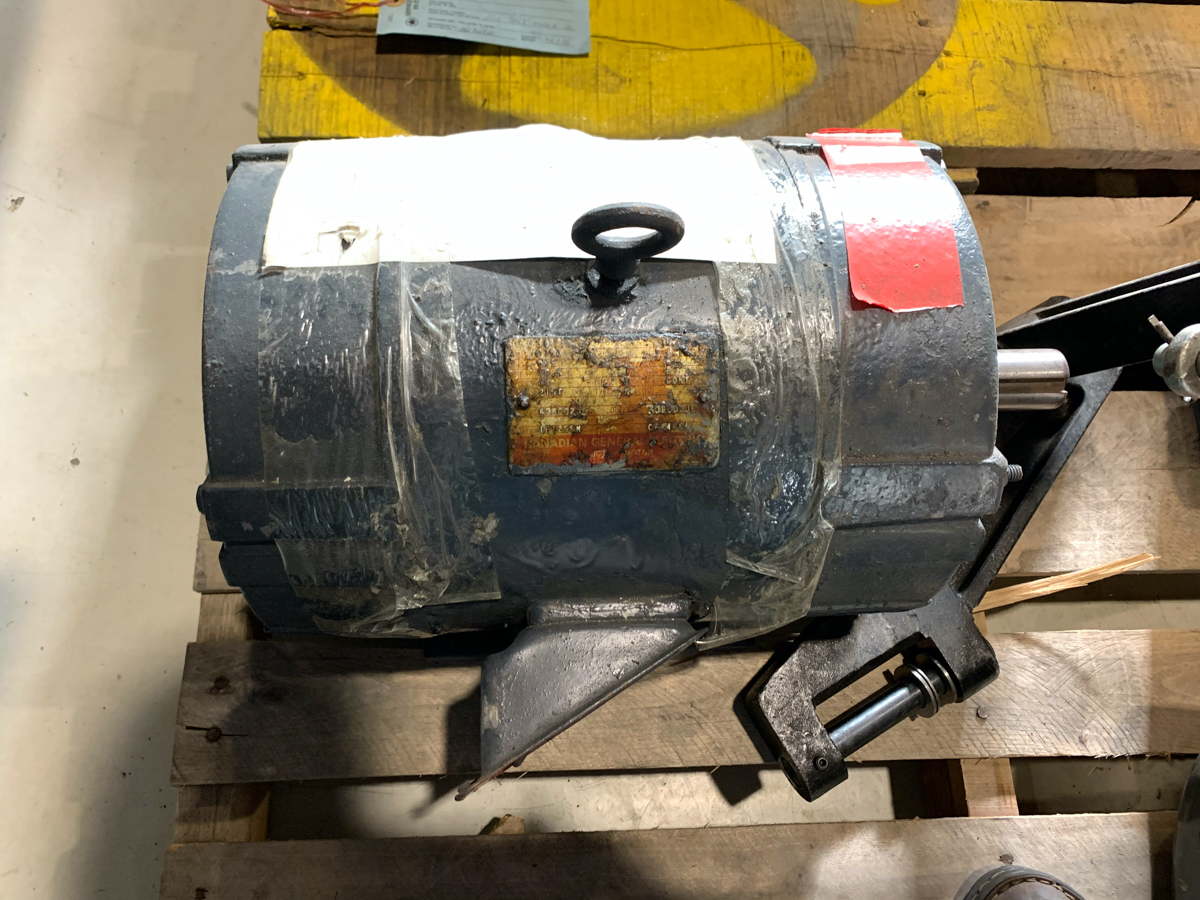 GENERAL ELECTRIC 10 HP MOTOR, 575 VOLTS