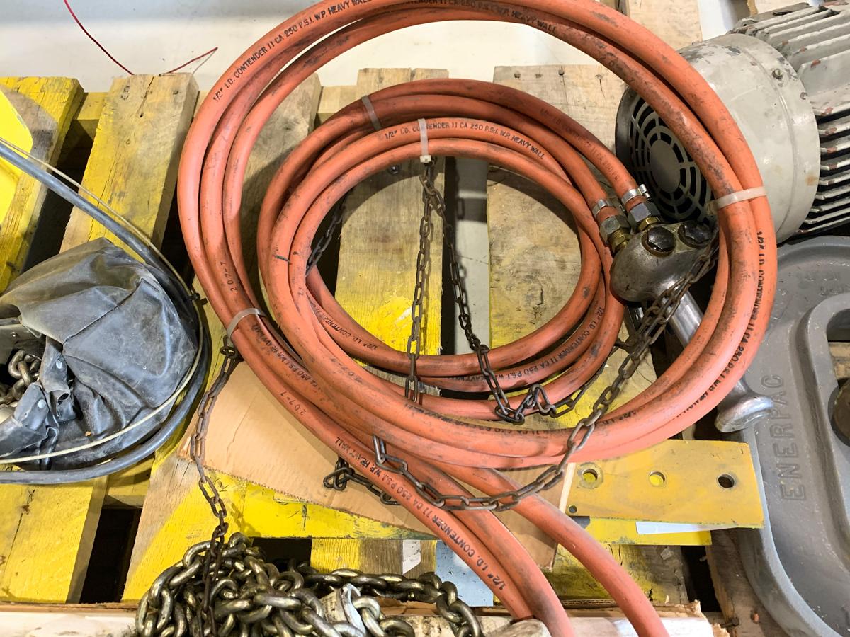 YALE 1000 LBS CAP. AIR HOIST MOD. KAL1/2-20H25S1 - Image 2 of 3
