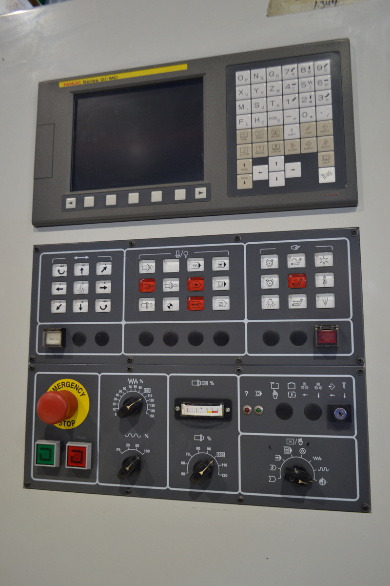 CHALLENGER VMC MOD. MCV6465, S/N: 0723266037 - Image 2 of 12