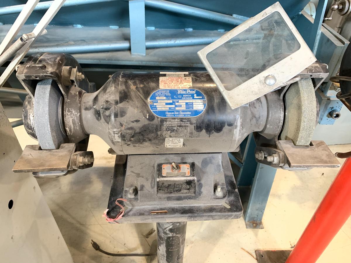 """BLUE POINT 8"""" BENCH GRINDER, 115/230 VOLTS - Image 2 of 2"""