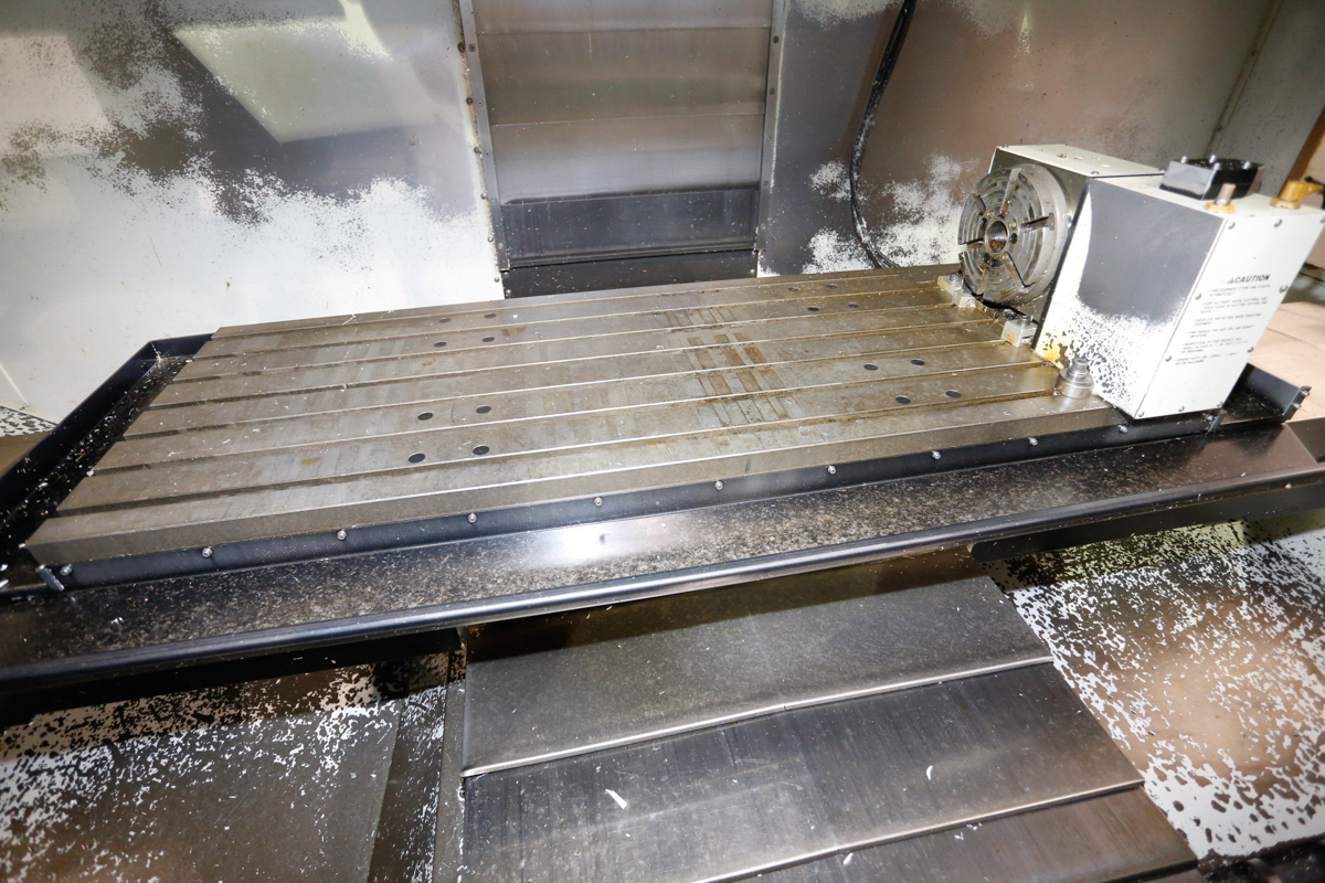 HAAS VF5/50XT 3-AXIX CNC VERTICAL MACHINING CENTER, EXTENDED TRAVEL, 10,000 RPM, 30 ATC, 30 HP 2 - Image 3 of 10