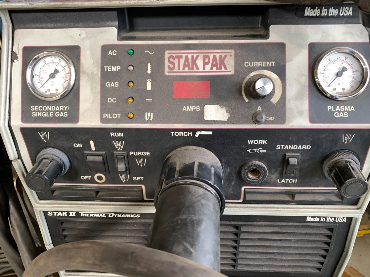 THERMAL DYNAMICS STAK PAK MOD. CM6030 PLASMA CUTTER / (4) STARPAK II PM6030 POWER MODULE, 200-460 - Image 3 of 4