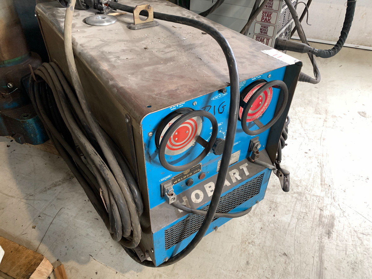 HOBART TR-300 WELDER, 300 AMP, 230/460/575 VOLTS, 1PH - Image 2 of 3