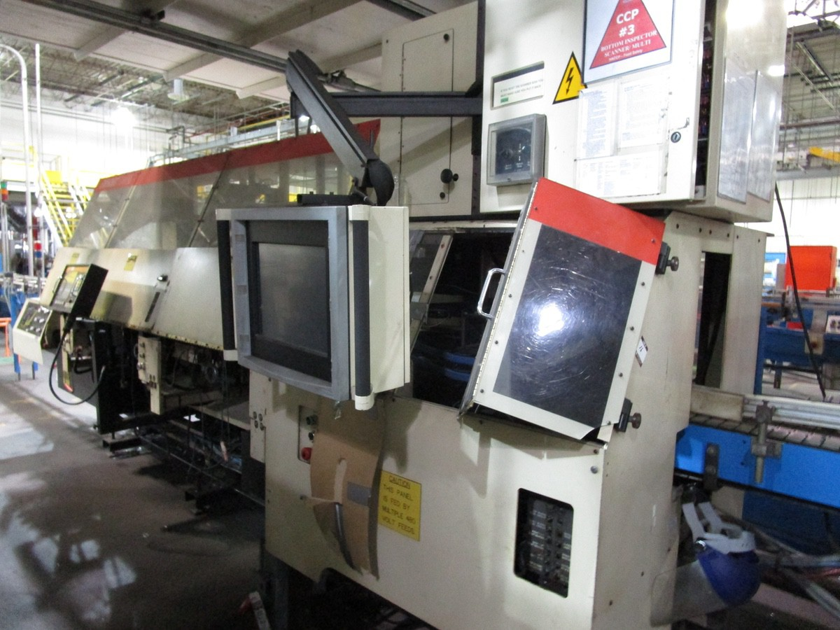 1989 Emhart Powers Scanner 5000 Bottom Inspector, 2007 Upgraded Control | Rig Fee: $2500 - Image 2 of 3