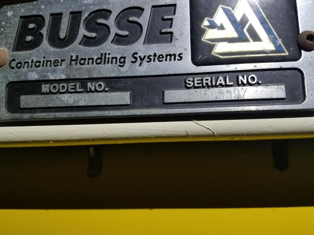 Busse Bros. Palletizer, M# SD20, S/N 1580997 | Rig Fee: Contact Rigger - Image 2 of 2