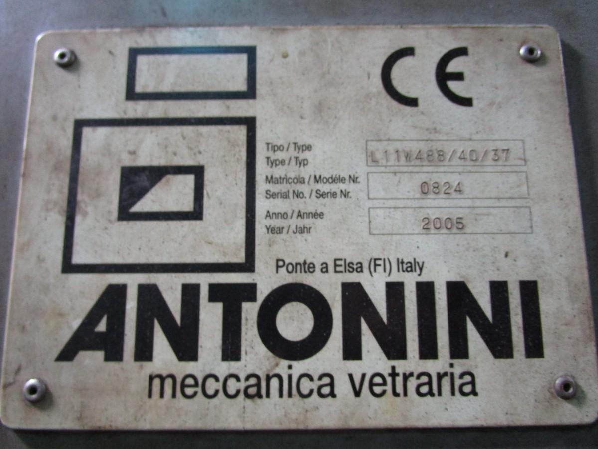2005 Antonini Meccanica Vetraria Tupe L11W488/40/37 Glass Cool Down Conve | Rig Fee: Contact Rigger - Image 9 of 10