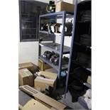 Lot of Spare Motors w/Storage Shelf | Rig Fee: Hand Carry or Contact Rigger