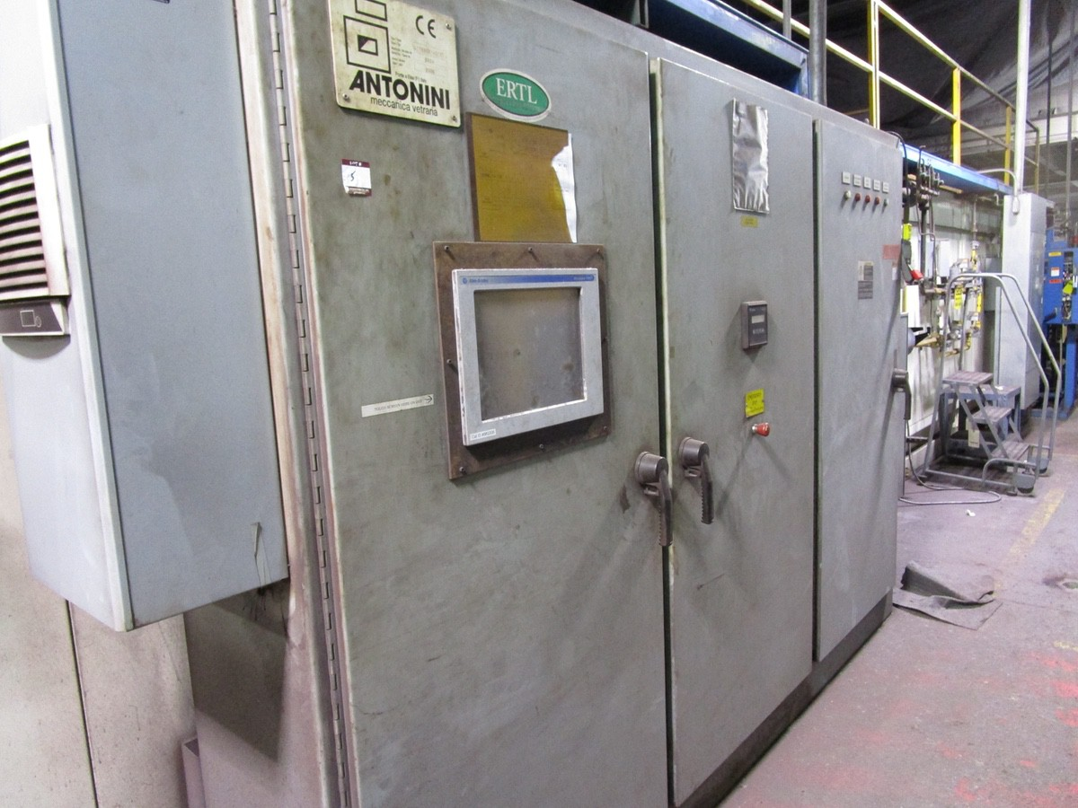 2005 Antonini Meccanica Vetraria Tupe L11W488/40/37 Glass Cool Down Conve | Rig Fee: Contact Rigger - Image 8 of 10